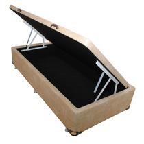 Cama Box Baú Solteiro 088 X 188 X 040 Direto Da Fabrica