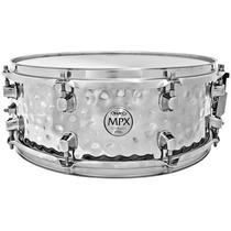 Caixa Mapex Mpx Steel 14x5.5 Hammered Na Cheiro De Música !!