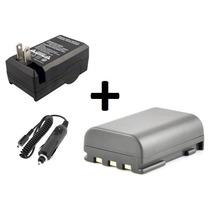 Kit Bateria Nb-2lh + Carregador P/ Canon Xti Xt 400d 350d