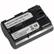 Bateria Bp-511 Bp511 P Canon Digital Rebel D60 300d G1 G2 G5