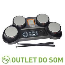 Bateria Eletrônica Medeli Dd-60 70 Sons/50 Ritmos/baquetas