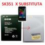 Bateria Smartphone Dual Chip Cce Sk351 Motion Plus Raridade