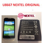 Bateria Original Autorizada Nextel U8667 Huawei Frete Barato