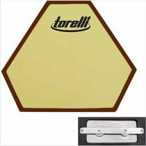 Pad Estudo Baterista Torelli Ta556 N 9 C/ Simulador De Caixa
