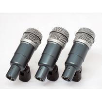 Kit 7 Microfones P/ Instrumentos Drk-b5 C2 Mk Ii Superlux