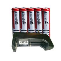5 Baterias Recarregável Ultrafire Original Brc-18650 5800mah