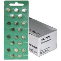 Cartela C/ 20 Baterias Originais Sr626sw 377 Sony Energizer