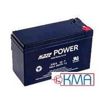 Bateria Selada 12v 7,5ah Haze Power 3 Anos - Hsc12-7,5