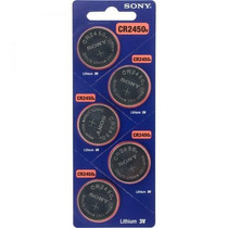 Bateria Lithium 3v Cr2450 Sony Original (cartela 5 Unid)
