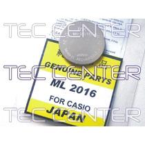 Bateria Solar Para Relógio Casio - Ml2016 - Original - Novo