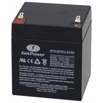 Bateria Getpower 5ah / 12v Selada Nobreak, Brinquedo