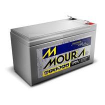 Bateria Selada 12v 7ah Moura P/ Alarme/no Break/cerca Elét.
