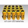 Kit 30 Bateria Recarregável 26650 3.7v Li-ion
