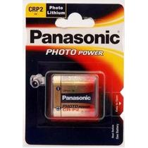 Cartela Bateria Pilha 6v Cr-p2 Lithium Photo Power Panasonic