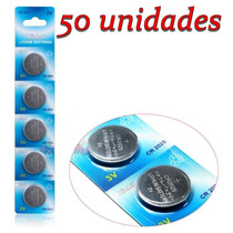 50 Bateria Cr2025 Bateria Moeda Cr 2025 Bateria Lithium 3v