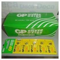 5bateria Gp Silver Oxid 1,55v Para Alarme,relogio Eletronico