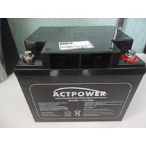 Bateria Estacionária 12v 45ah Act Power Ap1245