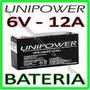 Bateria 6 Volts Moto Elétrica,biemme,bandeirante,magic Toys