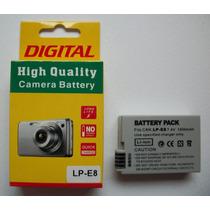 Bateria Canon Lp-e8 Lp E8 T2i T3i T5i Kiss X4 X5 Em Estoque