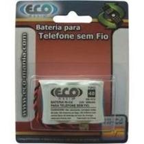 Bateria Para Telefone Sem Fio 3,6v - Eco Mania Em- 107u