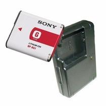 Bateria Np-bg1 + Carregador P/câmeras Cyber-shot Dsc-h3,h10