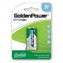 Pilha Bateria 9v Golden Power Caixa Com 01 Unidade Blister