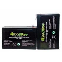 Baterias Para Bike Elétrica 12v 9ah Ciclo Profundo!!