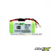 Bateria Telefone Sem Fio 2,4 V 600 Mah Intelbras.