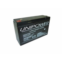 Bateria Selada 6v 12ah Unipower Up6120 Bandeirantes Biemme