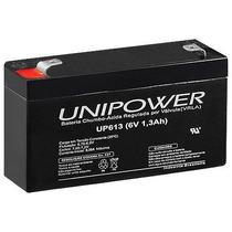 Bateria 6v 1,3ah (up613) Unipower