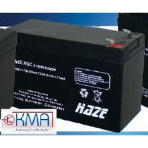 Bateria Selada 12v 10ah Haze Power 3 Anos - Hsc12-10