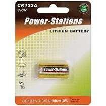 Bateria Lithium 3v Para Sensor De Alarme Sem Fio Cr 123a