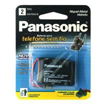 Bateria Panasonic Telefone Sem Fio Hhr-p301 Nimh