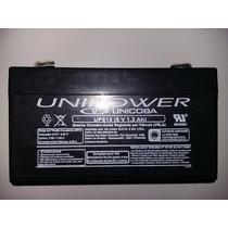 Bateria Unipower 6v 1,3 Ah