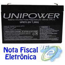 Bateria 6v 7,2ah Carro Elétrico, Brinquedo, Moto Elétrica