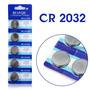 Bateria Litio 3v Cr2032 Cartela C/5 (relógio, Controle, Etc)