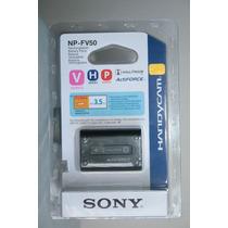 Bateria P/ Filmadora Sony Np-fv50 Serve P/ Np-fv30 Np-fv70