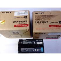 Kit 4 (quatro) Np-f970 Baterias Np-f960 Np-f570 Np-f550 Led