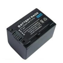 Bateria Np-fv70 Compatível C/ Sony Np-fv30 Np-fv50 Np-fv100