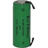 Bateria 4/5a 1800mah 1,2v Ni-mh Com Terminal