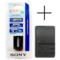 Bateria Sony Np-fh100 Original + Carregador Bc-vh1