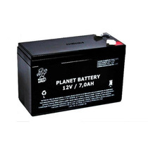 Bateria Selada 12v 7a Planet Battery Nobreak E Segurança