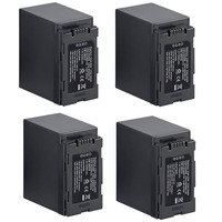 Lote De 4 Baterias Cga-d54 P/ Panasonic Ag-ac8 Ag-ac90 Dvc80