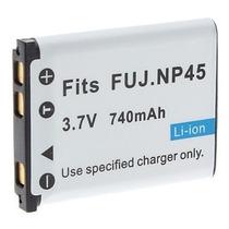 Bateria Np-45 P/ Fuji Finepix S610 Xp60 Xp50 T550 T500 Jx700