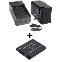 Kit Bateria Nb-11l + Carregador P/ Câmera Canon Ixus 265 Hs