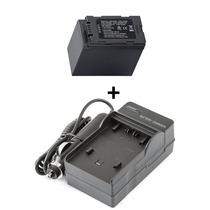 Kit Bateria + Carregador Cga-d54 D54 Panasonic Ag-dvc7