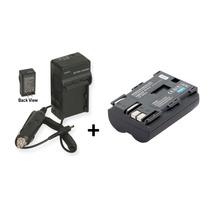 Kit Bateria Bp-511 + Carregador Câmera Canon Powershot G3