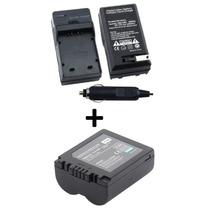 Bateria Cga-s006 + Carregador P/ Panasonic Lumix Dmc-fz35