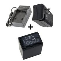 Kit Bateria Np-fh100 + Carregador P/ Sony Dcr-hc52 Dcr-hc28