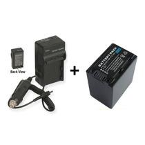 Kit Bateria Fv100 +carregador Np-fv100 Câmera Sony Dcr-sx85